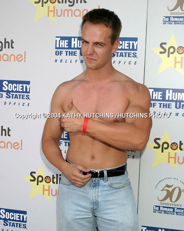 ©2004 KATHY HUTCHINS /HUTCHINS PHOTO.SPOTLIGHT HUMANE!.Los Angeles, CA.OCTOBER 10, 2004..MORTEN KUBLICK