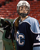 Cassie Hunter (CC - 4) - The Babson College Polar Bears defeated the Connecticut College Camels 3-0 on Thursday, January 12, 2017, at Fenway Park in Boston, Massachusetts.