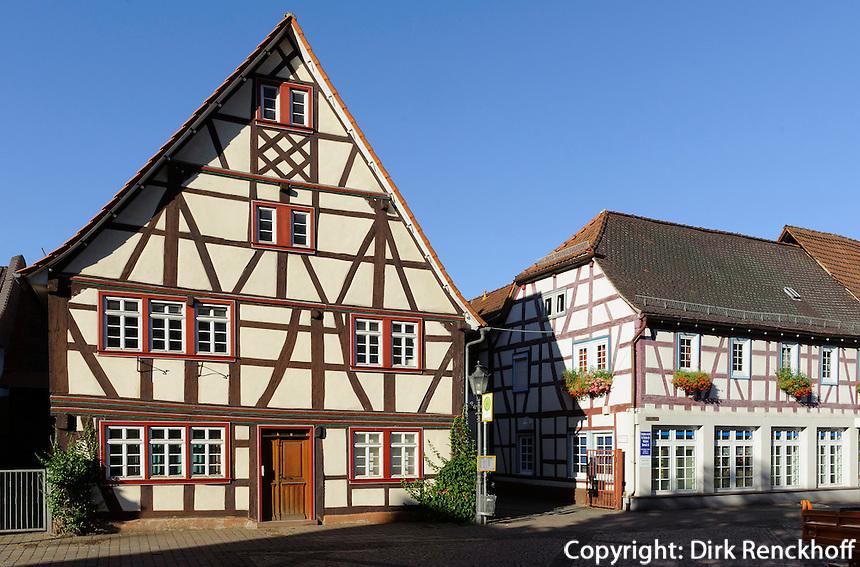 Altstadt von  Breuberg-Neustadt im Odenwald, Hessen, Deutschland