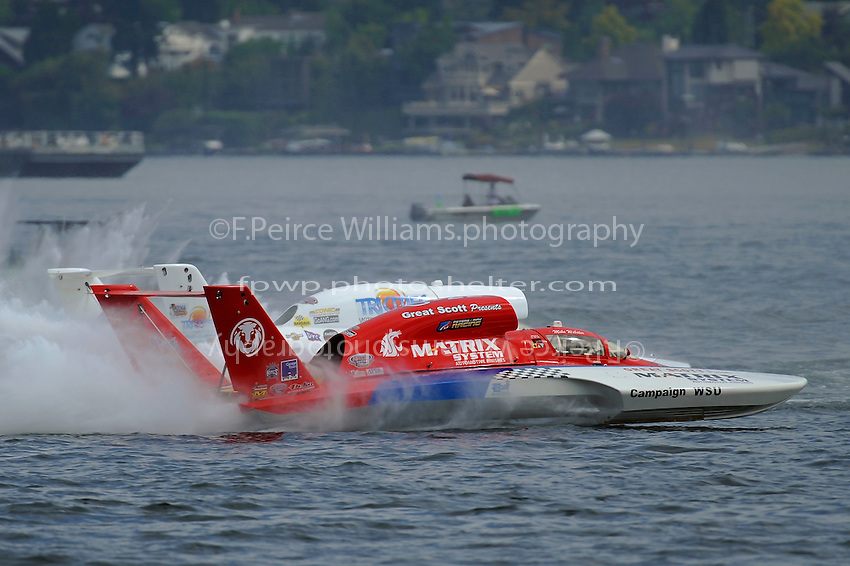 "Mike Webster, U-22, ""Matrix Systems"" and Jon Zimmerman, U-9 ""Jones Racing"""