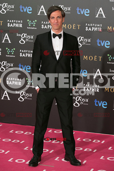 Ernesto Alterio attend the 2015 Goya Awards at Auditorium Hotel, Madrid,  Spain. February 07, 2015.(ALTERPHOTOS/)Carlos Dafonte) /NORTEphoto.com
