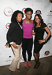 Carrie Pink, Honoree SHANELLE GABRIEL and Monique at DJ Jon Quick's 5th Annual Beauty and the Beat: Heroines of Excellence Awards Honoring AMBRE ANDERSON, DR. MEENA SINGH,<br />