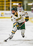 9 February 2020: University of Vermont Catamount Forward Kristina Shanahan, a Junior from Ste-Anne-de-Bellevue, Québec, in second period action against the University of Connecticut Huskies at Gutterson Fieldhouse in Burlington, Vermont. The Lady Cats defeated the Huskies 6-2 in the second game of their weekend Hockey East series. Mandatory Credit: Ed Wolfstein Photo *** RAW (NEF) Image File Available ***