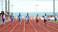 BRASÍLIA, DF, 30.11.2013 – GYMNASIADE 2013 – JOGOS MUNDIAIS ESCOLARES – Final dos 400m masculino nos Jogos Mundiais Escolares, neste sábado, 30. Os jogos reúnem cerca de 40 países e mais de mil estudantes/atletas entre os dias 28 de novembro a 3 de dezembro em Brasília. (Foto: Ricardo Botelho / Brazil Photo Press).