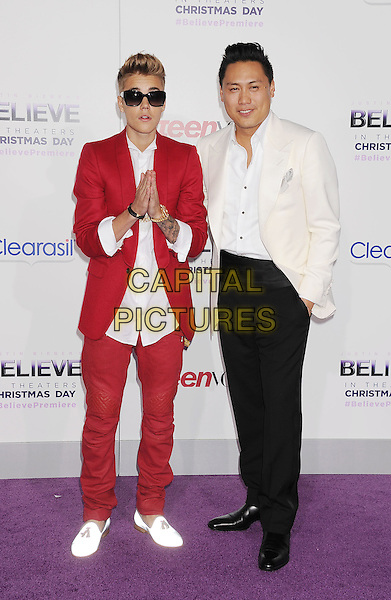 LOS ANGELES, CA- DECEMBER 18: Producer/singer Justin Bieber  at 'Justin Bieber's Believe' world premiere at Regal Cinemas L.A. Live on December 18, 2013 in Los Angeles, California.<br /> CAP/ROT/TM<br /> &copy;TM/Roth Stock/Capital Pictures