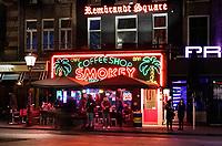 Nederland - Amsterdam - Januari 2019. Coffeeshop Smokey op het Rembrandtplein. Foto Berlinda van Dam / Hollandse Hoogte