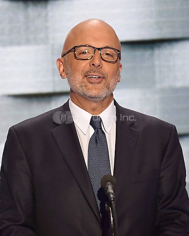 United States Representative Ted Deutch (Democrat of Florida) makes remarks during the fourth session of the 2016 Democratic National Convention at the Wells Fargo Center in Philadelphia, Pennsylvania on Thursday, July 28, 2016.<br /> Credit: Ron Sachs / CNP/MediaPunch<br /> (RESTRICTION: NO New York or New Jersey Newspapers or newspapers within a 75 mile radius of New York City)