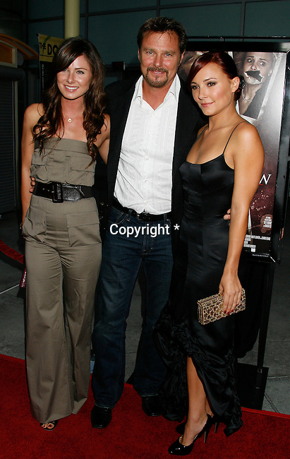 "HOLLYWOOD, CA. - September 03: Vanessa Evigan, Greg Evigan and Briana Evigan  arrive at the Los Angeles premiere of ""Sorority Row"" at the ArcLight Hollywood theater on September 3, 2009 in Hollywood, California."