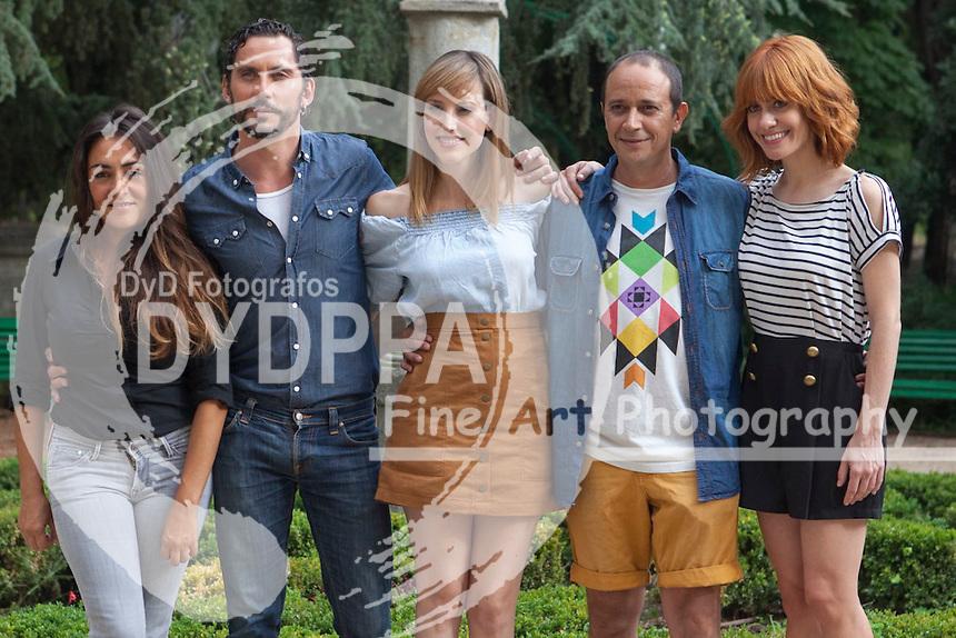 FromL Actress Candela Pena, Director Paco Leon, actress Natalia de Molina, actor Luis Callejo and actress Alexandra Jimenez