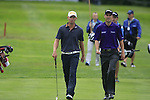 Marcel Siem (GER) and Ross Fisher (ENG) walk onto the par3 17th green during Day 1 of the BMW International Open at Golf Club Munchen Eichenried, Germany, 23rd June 2011 (Photo Eoin Clarke/www.golffile.ie)