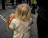 Little girl with doll, Alexandria, VA