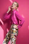 Sunday Mail Fashion with Mirella , Vouge Fashion Festival , shot at Realm display suit North tce. Model Adele McKeen from Pride Models,  Photo: Nick Clayton