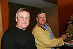 Ron Raines & Jordan Clarke - So Long Springfield celebrating 7 wonderful decades of Guiding Light Event (Saturday afternoon) come to see fans at the Hyatt Regency Pittsburgh International Airport, in Pittsburgh, PA. during the weekend of October 24 and 25, 2009. (Photo by Sue Coflin/Max Photos)