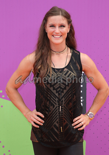 13 July 2017 - Los Angeles, California - Alise Post. Nickelodeon Kids' Choice Sports Awards 2017 held at Pauley Pavilion. Photo Credit: F. Sadou/AdMedia