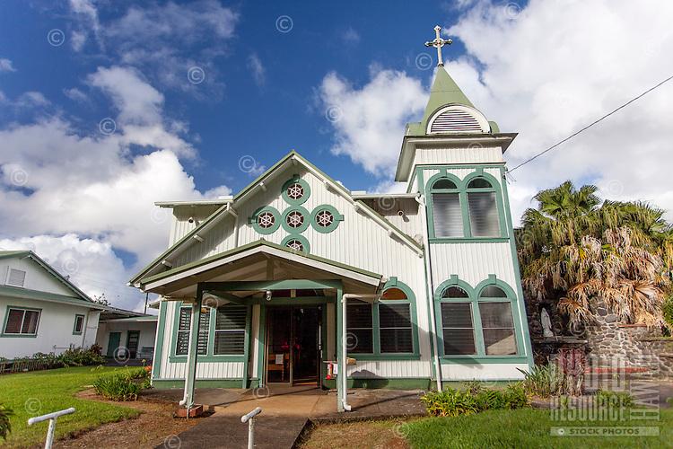 Good Shepherd Catholic Mission, Honomu, Big Island.