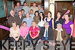 FRIENDS REUNION: Friends who gathered together for a reunion at Nacey Myles bar on Saturday..