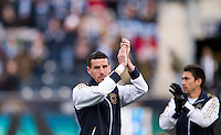 Sebastien Le Toux.  Sporting Kansas City defeated Philadelphia Union, 3-1. at PPL Park in Chester, PA.