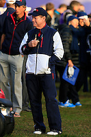 Tom Watson (USA) during the Saturday morning Fourballs of the 2014 Ryder Cup at Gleneagles. The 40th Ryder Cup is being played over the PGA Centenary Course at The Gleneagles Hotel, Perthshire from 26th to 28th September 2014.: Picture Thos Caffrey, www.golffile.ie: \27/09/2014\