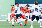 Urawa Reds Forward Lee Tadanari (L) fights for the ball with Jeju United Midfielder Lee Chandong (R) during the AFC Champions League 2017 Round of 16 match between Jeju United FC (KOR) vs Urawa Red Diamonds (JPN) at the Jeju Sports Complex on 24 May 2017 in Jeju, South Korea. Photo by Yu Chun Christopher Wong / Power Sport Images