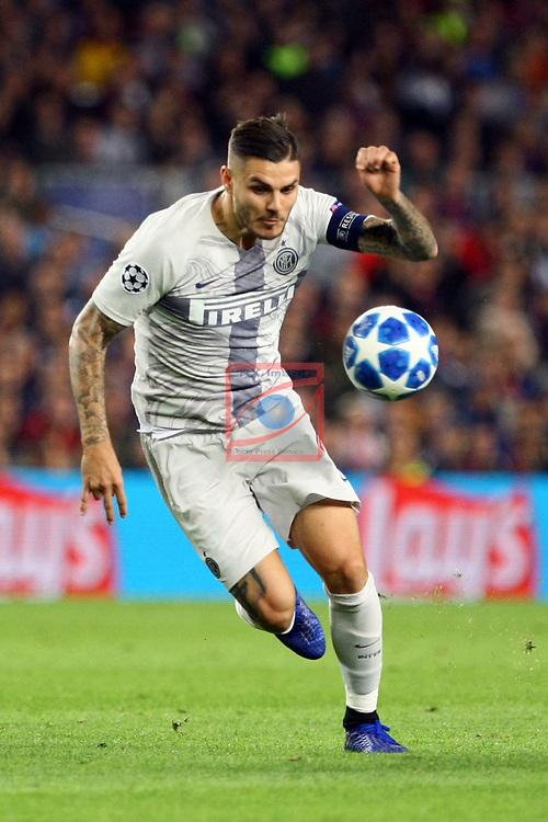 UEFA Champions League 2018/2019 - Matchday 3.<br /> FC Barcelona vs FC Internazionale Milano: 2-0.<br /> Mauro Icardi.