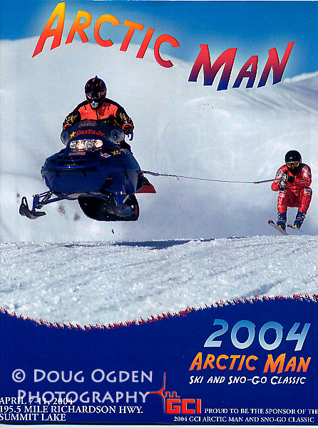 Cover of the Arctic Man Ski and Sno-go Guide