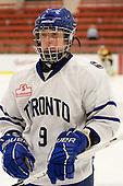 Jennifer Brine (Toronto - 9) - The Boston Blades defeated the visiting Toronto Hockey Club 4-2 on Sunday, February 6, 2011, at Bright Hockey Center in Cambridge, Massachusetts.