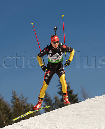 09.12.2011, Hochfilzen, Austria. The IBU Biathlon men's 10km Sprint Schempp Simon ger Biathlon World Cup