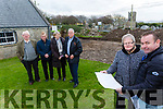 Spa Fenit Community Council members Jim Wrenn, Colette O'Sullivan, Dermot Crowley, Nora Landers and John Foley with Edward Dowling of Parkway Contracts Ltd at the Churchill Forge on Thursday overseeing the new €100k renovation works that stated this week