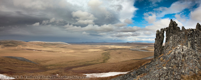 Lisborne ridge along the Etivluk river, Arctic National Petroleum Reserve, Alaska.