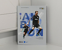 The front of the match day programme during Brighton & Hove Albion vs Tottenham Hotspur, Premier League Football at the American Express Community Stadium on 5th October 2019
