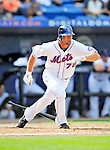 28 February 2011: New York Mets outfielder Kirk Nieuwenhuis in action during a Spring Training game against the Washington Nationals at Digital Domain Park in Port St. Lucie, Florida. The Nationals defeated the Mets 9-3 in Grapefruit League action. Mandatory Credit: Ed Wolfstein Photo