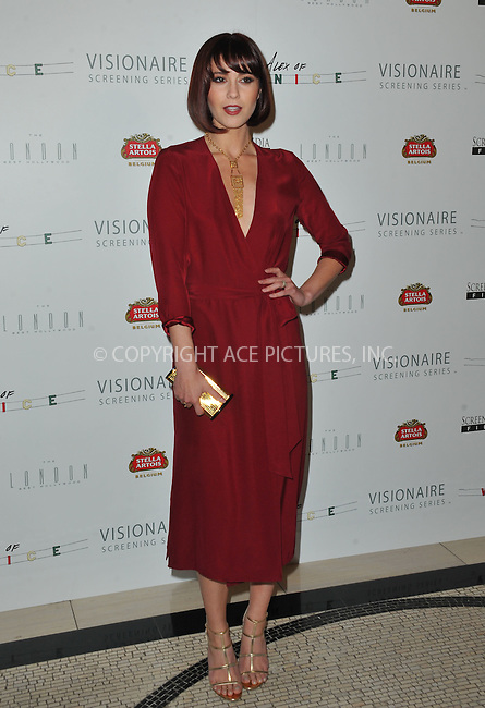 WWW.ACEPIXS.COM<br /> <br /> April 8 2015, LA<br /> <br /> Actress Mary Elizabeth Winstead arriving at the premiere of 'Alex Of Venice' at The London West Hollywood on April 8, 2015 in West Hollywood, California. <br /> <br /> By Line: Peter West/ACE Pictures<br /> <br /> <br /> ACE Pictures, Inc.<br /> tel: 646 769 0430<br /> Email: info@acepixs.com<br /> www.acepixs.com