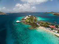 Aerial view of Coral World<br />