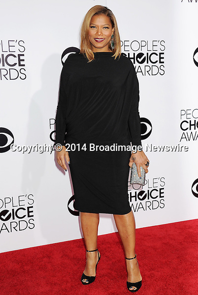 Pictured: Queen Latifah<br /> Mandatory Credit &copy; Gilbert Flores /Broadimage<br /> 2014 People's Choice Awards <br /> <br /> 1/8/14, Los Angeles, California, United States of America<br /> Reference: 010814_GFLA_BDG_210<br /> <br /> Broadimage Newswire<br /> Los Angeles 1+  (310) 301-1027<br /> New York      1+  (646) 827-9134<br /> sales@broadimage.com<br /> http://www.broadimage.com