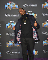"Snoop Dogg at the world premiere for ""Black Panther"" at the Dolby Theatre, Hollywood, USA 29 Jan. 2018<br /> Picture: Paul Smith/Featureflash/SilverHub 0208 004 5359 sales@silverhubmedia.com"