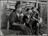 Coal Miners, circa 1956
