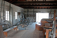 Interior of Artificer Building, Fort George, Niagara-on-the-Lake