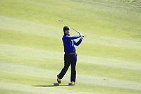 Jorge Campillo (ESP) on the 4th fairway during Round 1 of the Open de Espana 2018 at Centro Nacional de Golf on Thursday 12th April 2018.<br /> Picture:  Thos Caffrey / www.golffile.ie<br /> <br /> All photo usage must carry mandatory copyright credit (&copy; Golffile | Thos Caffrey)