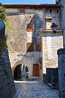 Gate in Kotor town walls, Montenegro