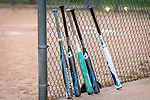 WOLCOTT, CT. 10 June 2020-061020BS21 - Bats against the backstop at Wakelee Elementary School on Wednesday. Bill Shettle Republican-American