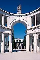 Slowenien. Ljubljana, Friedhof Zale