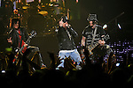 Guns and Roses perform at the Bridgestone Arena on Sunday, December 4, 2011. (Photo by Frederick Breedon)
