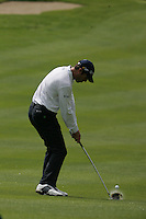 Bradley Dredge takes his 2nd shot on the 5th hole during the final round of the Irish Open on 20th of May 2007 at the Adare Manor Hotel & Golf Resort, Co. Limerick, Ireland. (Photo by Eoin Clarke/NEWSFILE).