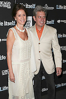 New York, NY - June 23 : Julie Taymor and Elliot Goldenthal attend the New York Premiere of Life Itself<br /> held at the Film Society of Lincoln Center Walter Reade Theater<br /> on June 23, 2014 in New York City. Photo by Brent N. Clarke / Starlitepics
