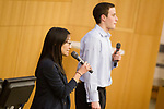 Duke Start Up Challenge Demo Day.  Fuqua School of Business.<br /> <br /> Photo by Jon Gardiner/Duke Photography