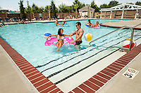 Photography of the Birkdale Village fitness center and pool facility. Photos by Patrick Schneider Photo.Com