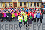 The large crowd who participated in the Castleisland Hospice Good Friday walk