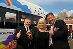 Pictured at the presentation of St.Mary's SPecial School's new minibus were (from left) Brother Ronan Lennon, prior of St. Mary's, Bernadette Shevlin, Director of Services and Chair of the school's Board of Management and Gerald Keane. Photo: www.newsfile.ie