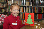 Camille Goberyte at the Christmas Workshop in The Library...(Photo credit should read Jenny Matthews www.newsfile.ie)....This Picture has been sent you under the conditions enclosed by:.Newsfile Ltd..The Studio,.Millmount Abbey,.Drogheda,.Co Meath..Ireland..Tel: +353(0)41-9871240.Fax: +353(0)41-9871260.GSM: +353(0)86-2500958.email: pictures@newsfile.ie.www.newsfile.ie.