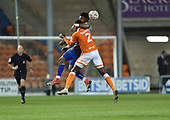 18/12/18 The Emirates FA Cup, 2nd Round Replay Blackpool v Solihull Moor<br /> <br /> Adi Yussuf fouls Donervon Daniels